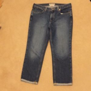 Tommy Hilfiger hipster cuffed Ankle jeans